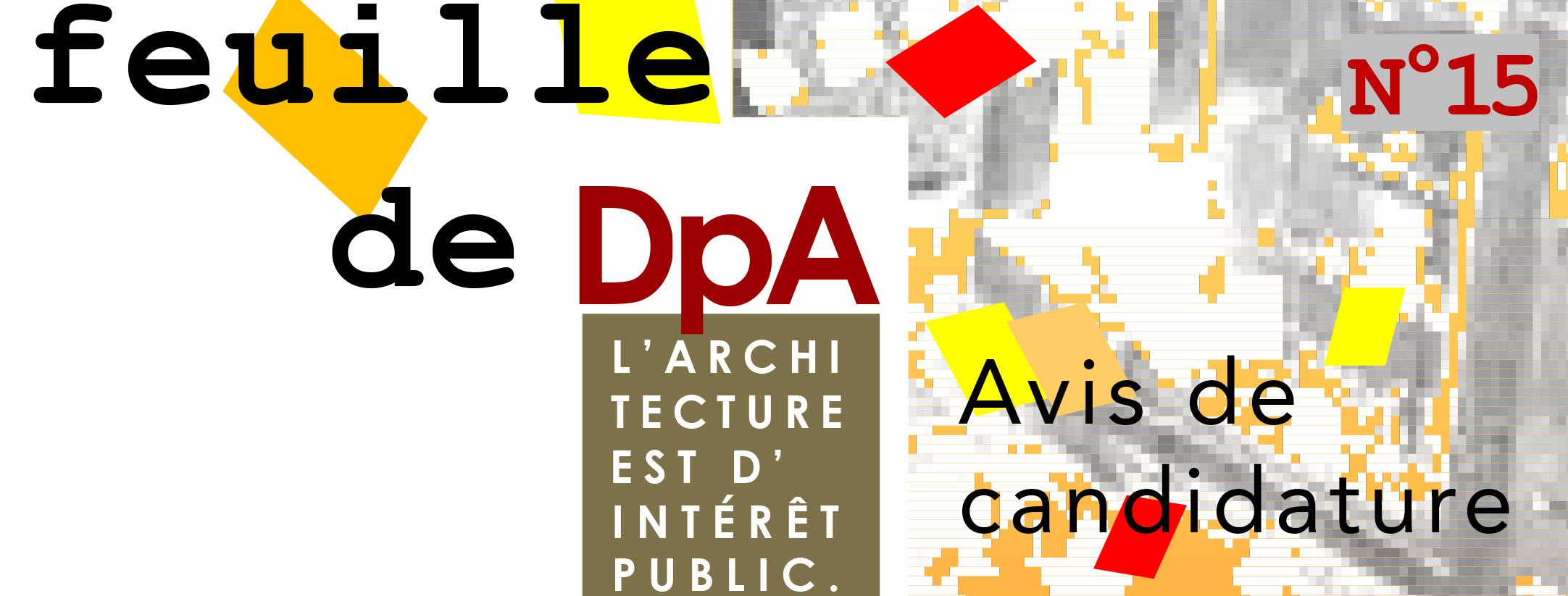 Image Bandeau - DpA - La Feuille #15