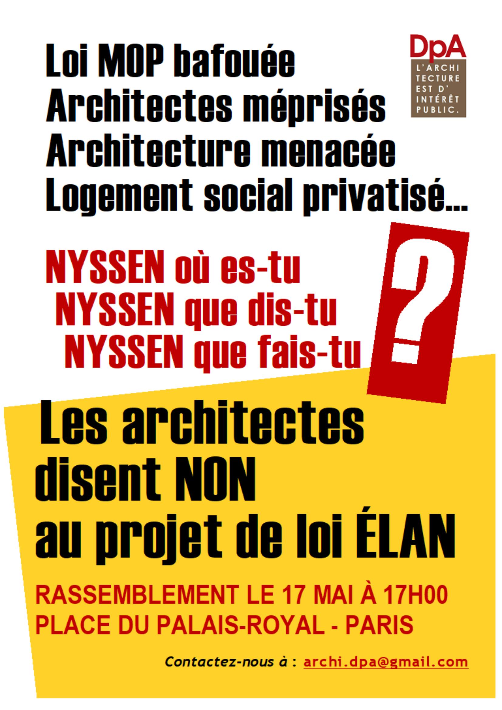 Affiche mobilisation 17 mai